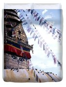 Swayambhunath II Duvet Cover