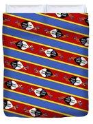 Swaziland Flag 3 Duvet Cover
