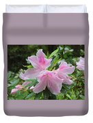 Sweet Azaleas Duvet Cover