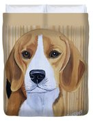 Sweet Beagle  Duvet Cover