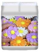 Sweet Floral Array Duvet Cover