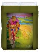 Sweet Grass Duvet Cover