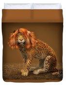 Sweet Lady Leopard Duvet Cover