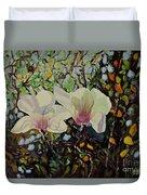 Sweet Magnolias Duvet Cover