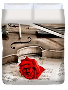 Sweet Music Duvet Cover