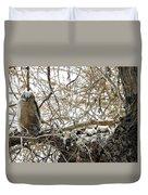 Sweet Owlets Duvet Cover