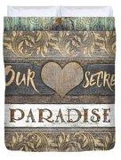 Sweet Paradise Series Duvet Cover