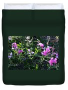 Sweet Pea In Tahoe Duvet Cover
