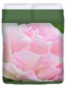 Sweet Pink Tulip Duvet Cover