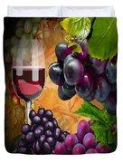 Sweet Red Wine # 3 Duvet Cover