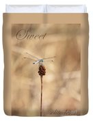 Sweet Solitude Duvet Cover by Carol Groenen
