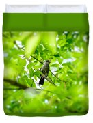 Sweet Song Mother Bird Duvet Cover