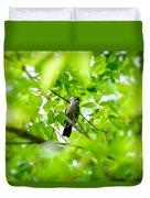 Sweet Song Mother Bird Duvet Cover