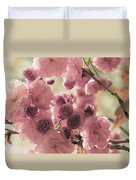 Sweet Spring Blossoms Duvet Cover
