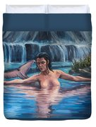 Sweet Water Mermaid Duvet Cover