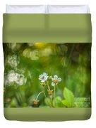 Sweet Watercolor Duvet Cover
