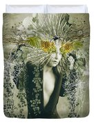 Sweet Webs Of Design Duvet Cover
