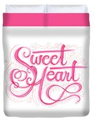 Sweetheart Duvet Cover by Cindy Garber Iverson
