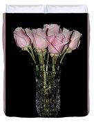 Sweetheart Roses Duvet Cover
