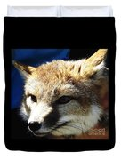 Swift Fox With Oil Painting Effect Duvet Cover