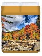 Swift River New Hampshire Duvet Cover