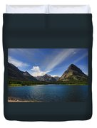 Swiftcurrent Lake - Glacier Np Duvet Cover