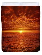 Swiftly Flow The Days Duvet Cover