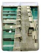 Swim Lanes Duvet Cover