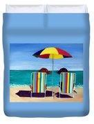 Swim Duvet Cover by Roger Wedegis