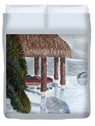Swim To A Beach Bar Cool Huh Duvet Cover