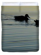 Swimming Into Ripples Two  Duvet Cover