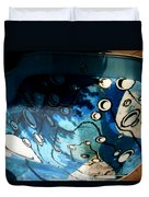 Swimming Pool Mural 2 Duvet Cover