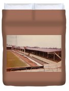 Swindon - County Ground - Main Stand 1 - 1970 Duvet Cover