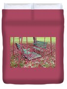Swing Set Duvet Cover