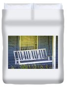 Swinging At The Cottage Duvet Cover