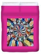 Swirl 12 Duvet Cover