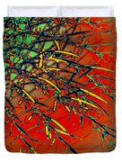 Swirl Barrel Cactus Duvet Cover