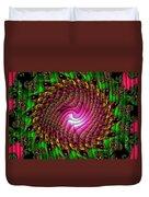 Swirledya-neonaya Catus 1 No. 1 H B Duvet Cover