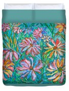Swirling Color Duvet Cover