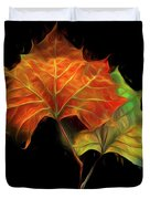Swirling In The Wind Duvet Cover