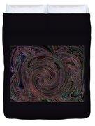 Swirlpool Neon Duvet Cover