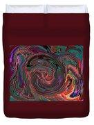 Swirlpool Squared Duvet Cover