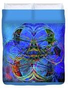 Swirls Abstract Duvet Cover