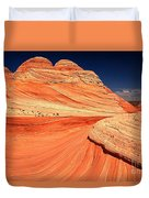Swirls And Petrified Dunes Duvet Cover