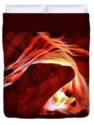 Swirls Of Fire Duvet Cover