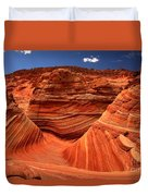 Swirls Waves And Buttes Duvet Cover