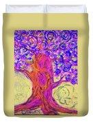 Swirly Tree Duvet Cover