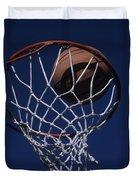 Swish.  A Basketball Duvet Cover