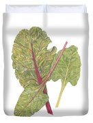 Swiss Chard Duvet Cover