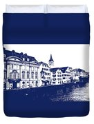 Swiss City Duvet Cover